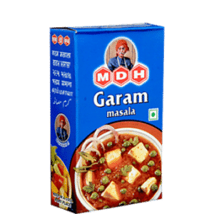MDHGaram Masala offers ready to use ground spices. MDH spices are neatly and hygenically packed. Garam Masala is a perfect blend of all main spices.