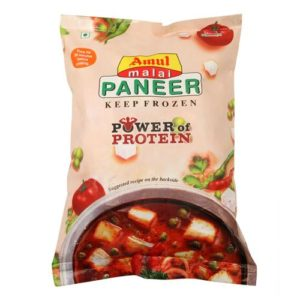Amul Malai Paneer Cubes is already provided to you readymade in shapes which makes your work easier. This just have to focus on making the food easier.