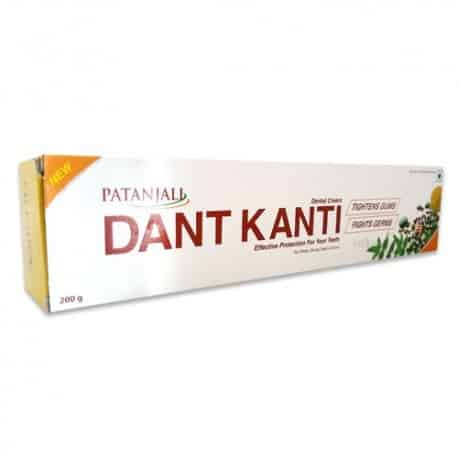 Patanjali Dant Kanti Dental Cream is all you need to maintain oral hygiene. It has several useful properties that makes it great for regular use.